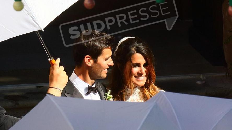 Exclusif voici toutes les photos du mariage magnifique entre Karine Ferri  (The Voice) et le footballeur Yoann Gourcuff