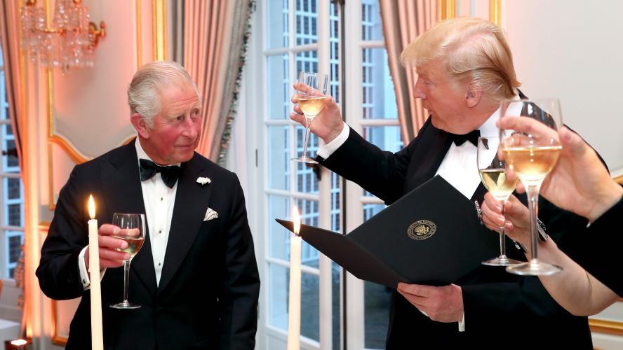 Donald Trump vante sa rencontre avec Charles,