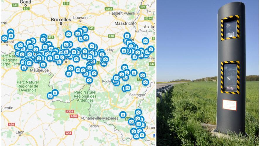 carte des nouveaux radars La Wallonie s'équipe pour mieux lutter contre les excès de vitesse