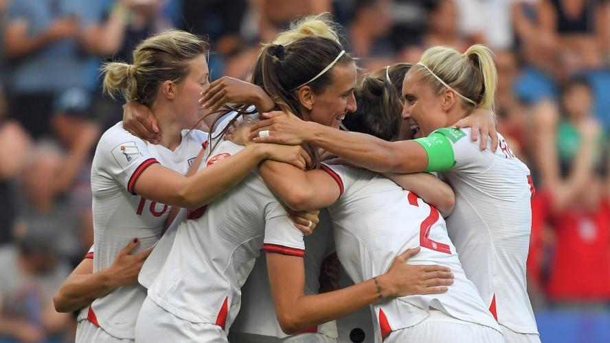 Coupe du Monde féminine: l'Angleterre première qualifiée pour les demi-finales