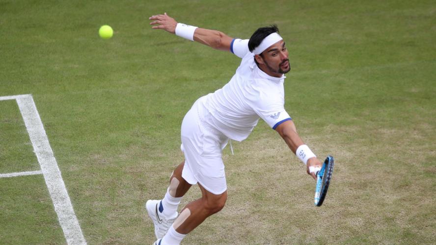 Wimbledon - Fognini :