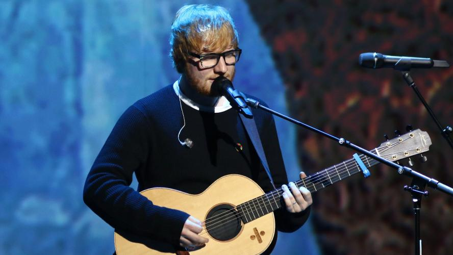Ed Sheeran bouleversé par la mort de son chat Graham