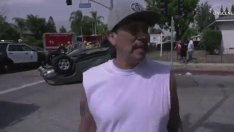 L'acteur Danny Trejo sauve un enfant dans un accident (vidéos)