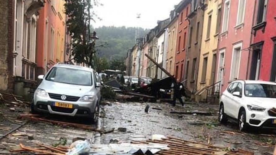 La tornade a causé pas mal de dégâts