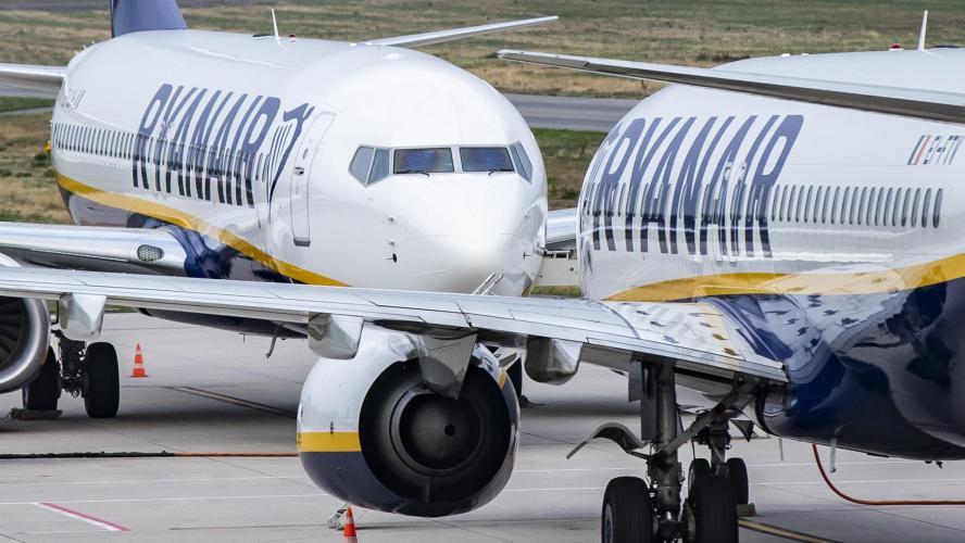 Ryanair : Les pilotes irlandais de Ryanair votent la grève