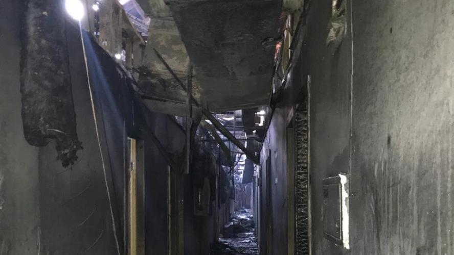 8 personnes ont péri dans l'incendie d'un hôtel à Odessa — Ukraine