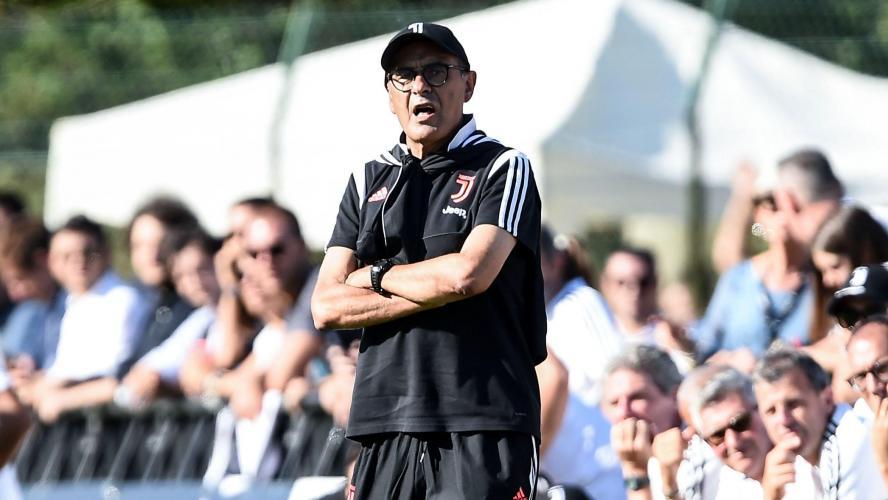 L'entraîneur de la Juventus Maurizio Sarri victime d'une pneumonie