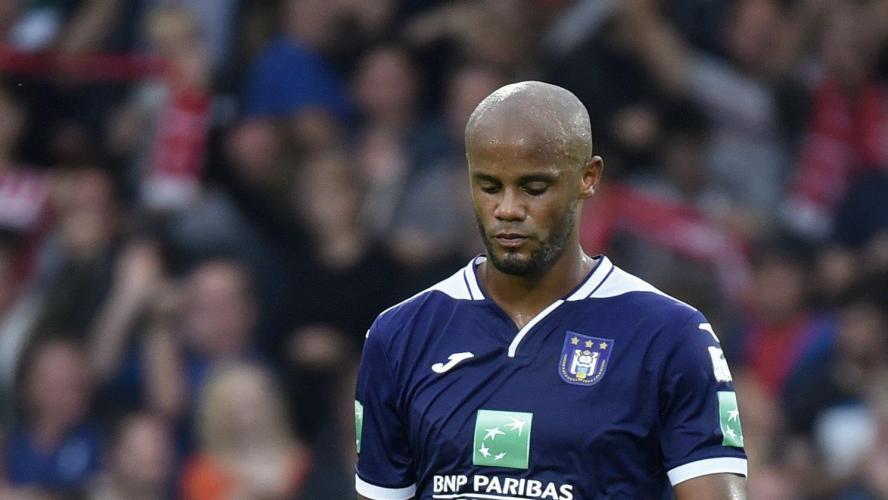 Kompany n'est plus entraîneur-joueur — Anderlecht