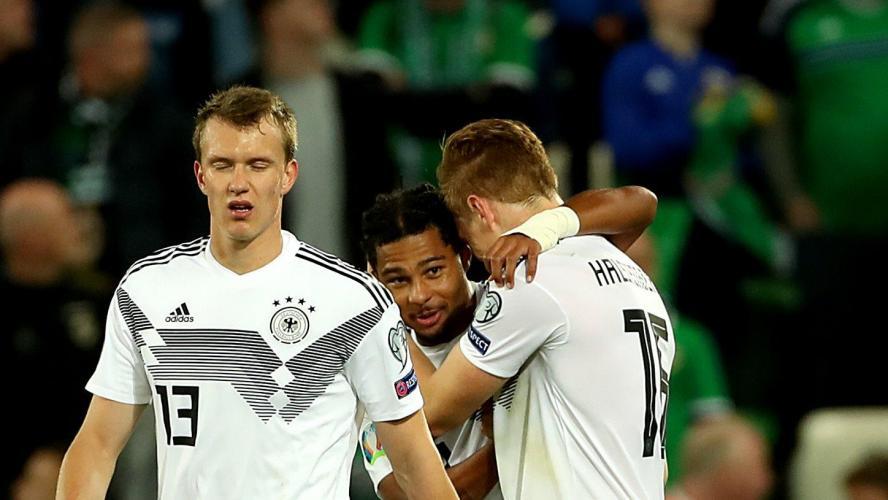Qualifs Euro-2020: l'Allemagne se rassure un peu en Irlande du Nord