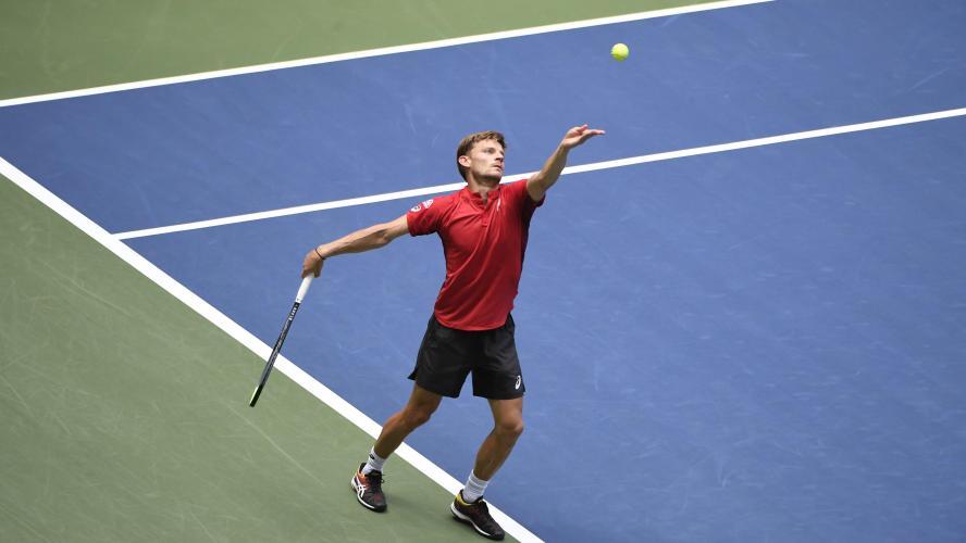 Tennis Ça casse pour Denis Shapovalov
