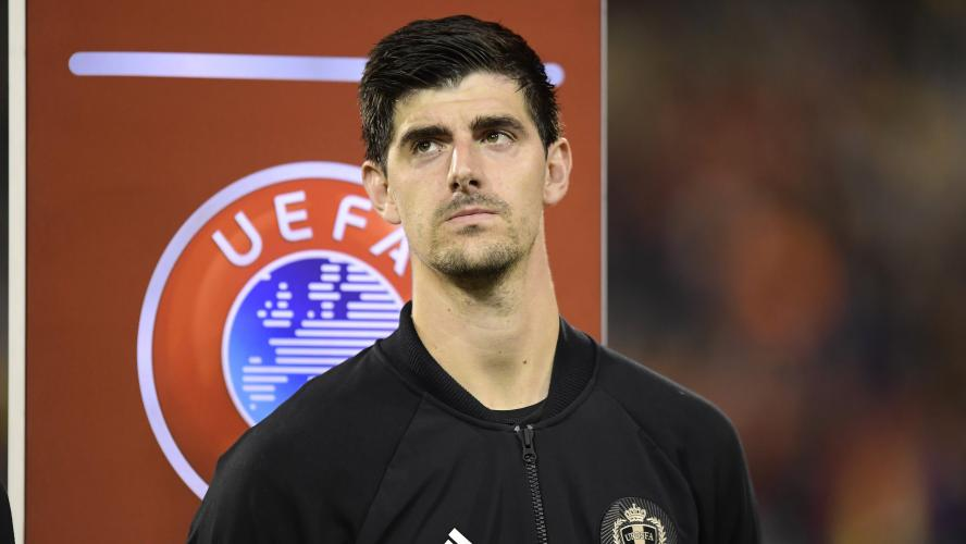 Real : Courtois brise le silence