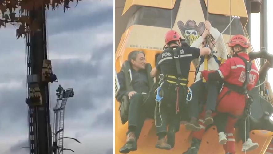 Belgique : Quatre touristes coincés dans un manège pendant plus de trois heures