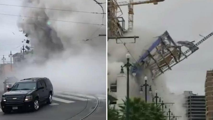 Drame aux USA: un Hard Rock Hôtel en construction s'effondre