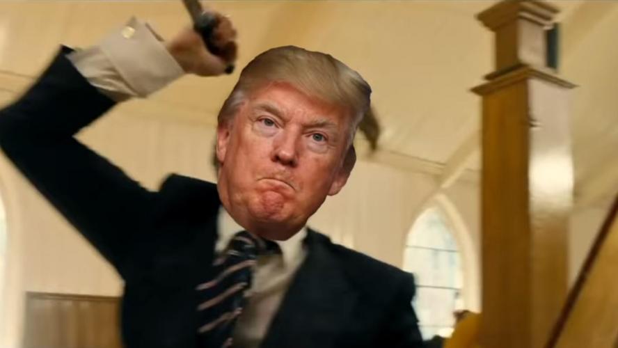 Trump condamne une vidéo parodique violente le mettant en scène