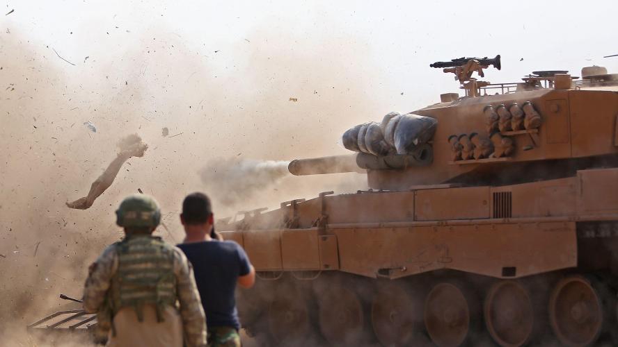 Combats meurtriers entre Syriens et Turcs près de la frontière