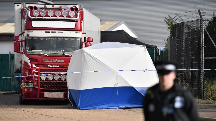 Camion charnier en Grande-Bretagne: deux arrestations au Vietnam