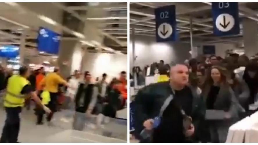 Des scènes d'émeute pour la collection capsule de Virgil Abloh (Vidéos) — IKEA