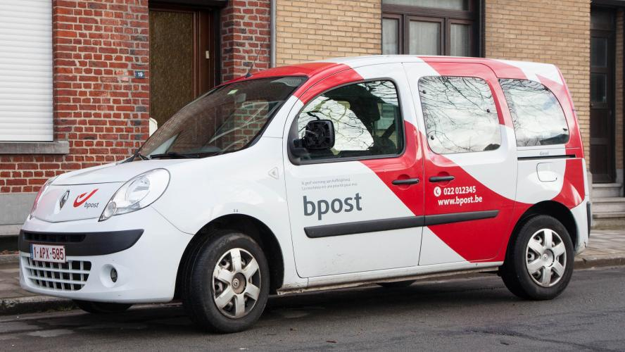 La photo d'une camionnette de Bpost interpelle les internautes