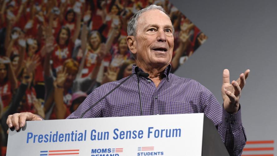 L'ex-maire de New York Michael Bloomberg candidat à la Maison-Blanche