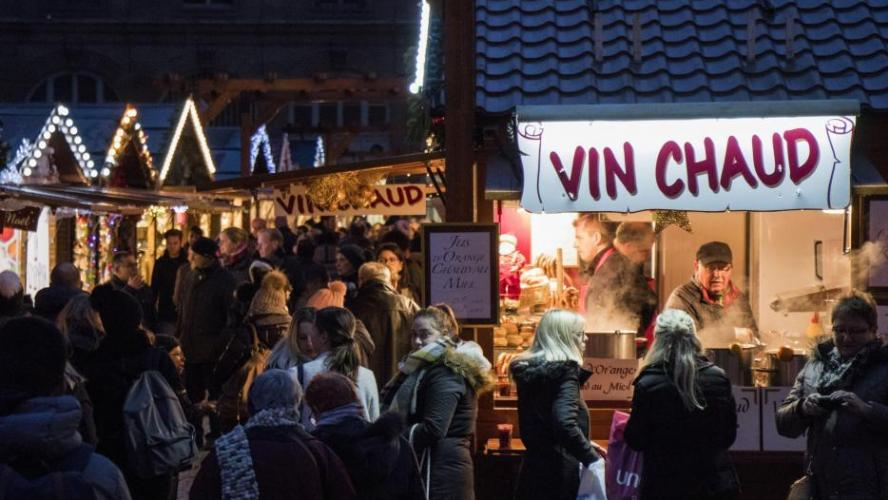 Nice: une mauvaise blague à l'origine de l'évacuation du marché de Noël