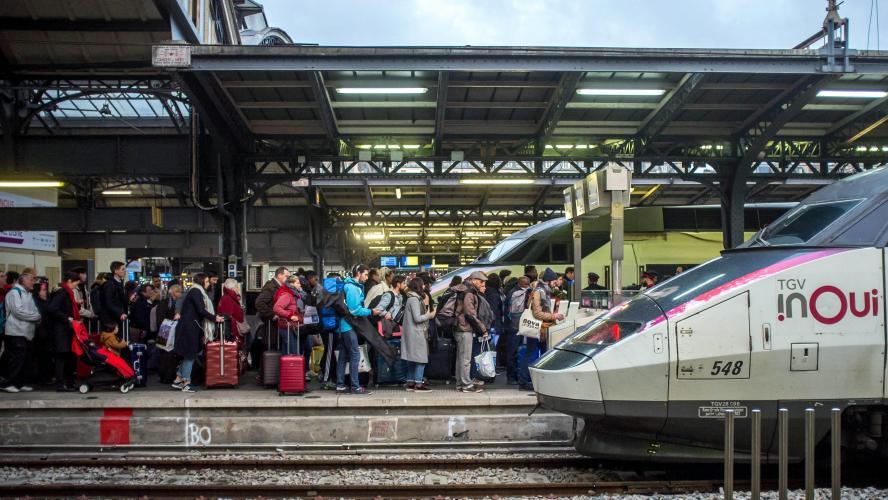La SNCF chiffre à 400 millions d'euros l'impact du mouvement de grève