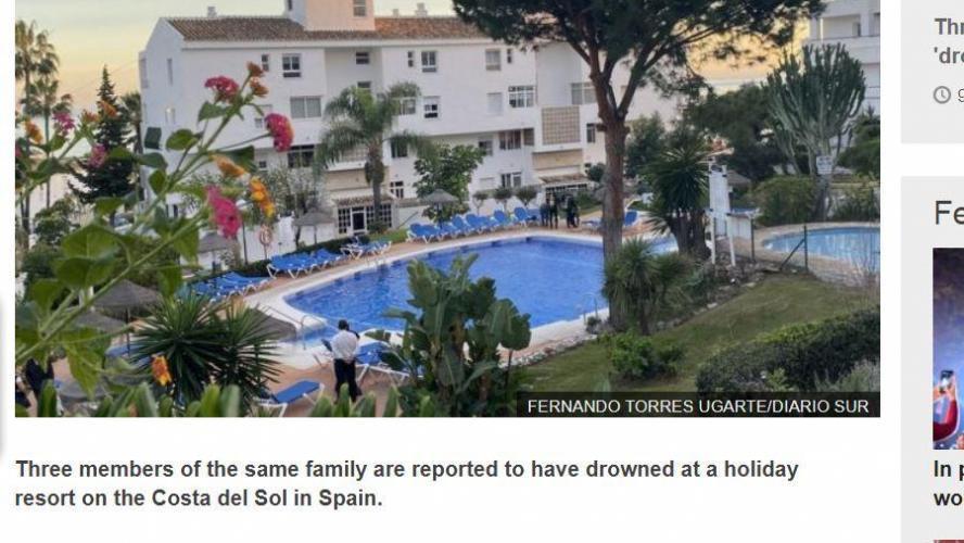 Triple noyade dans une piscine en Andalousie