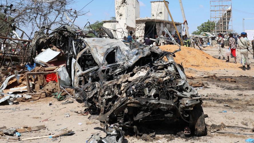 Somalie:un attentat fait des dizaines de morts à Mogadiscio