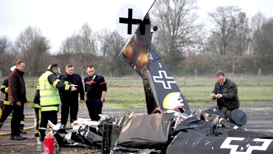 Paul Roquelle, Beloeillois, tué dans un accident d'ULM