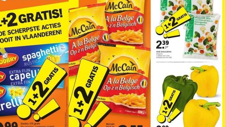 Le retour de l'offre la plus folle de Belgique pour cette fin d'année: à l'achat d'un produit, les clients en reçoivent… deux gratuitement