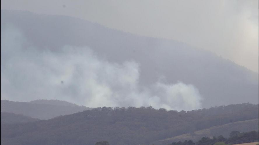 Des fumées des incendies atteignent l'Amérique du Sud