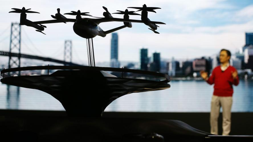 Huyndai développe un concept de taxi volant pour Uber