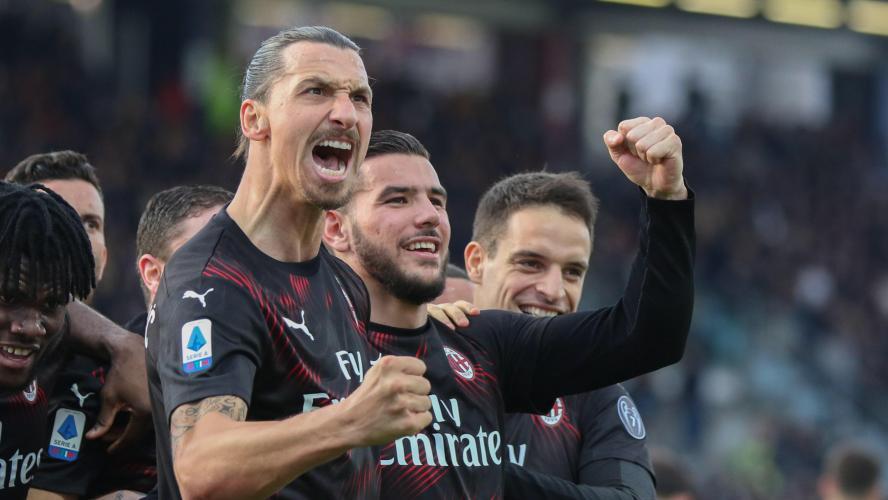 Zlatan fait déjà trembler les filets avec l'AC Milan — Italie