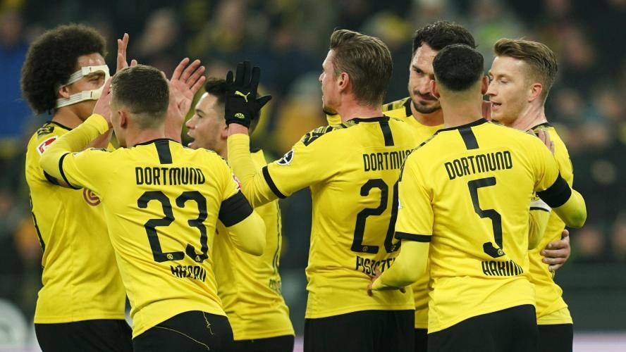 Haaland sur le banc — Borussia Dortmund