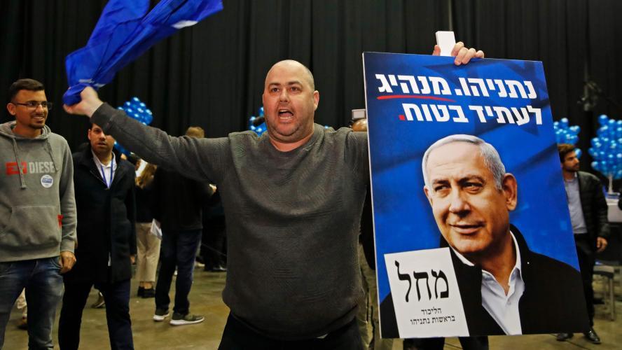 Benjamin Netanyahu devance Benny Gantz — Elections en Israël