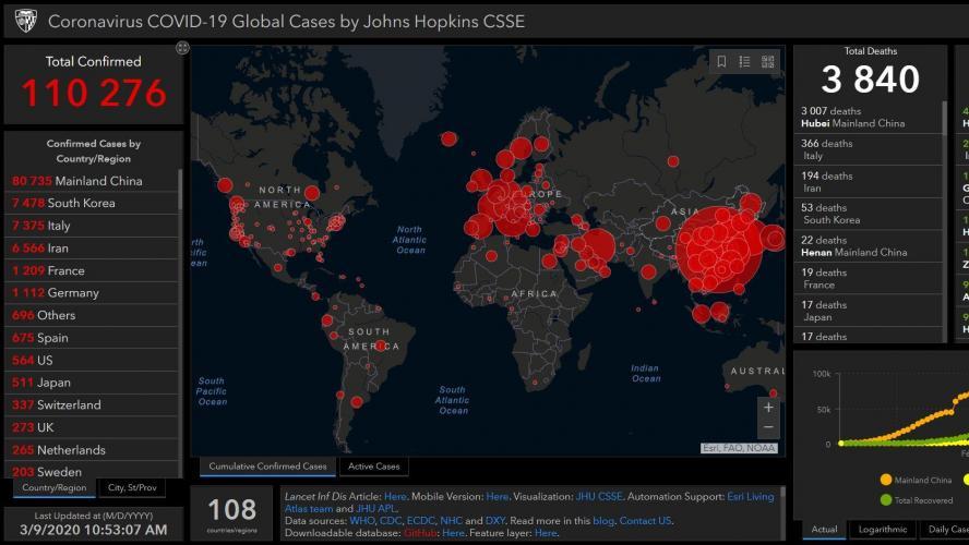 Coronavirus Les Derniers Developpements Dans Le Monde Voici La Carte Mondiale De La Propagation Actualisee En