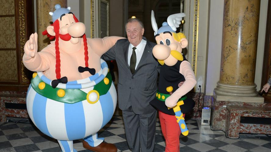 Albert Uderzo, le dessinateur d'Astérix, est mort à l'âge de 92 ans