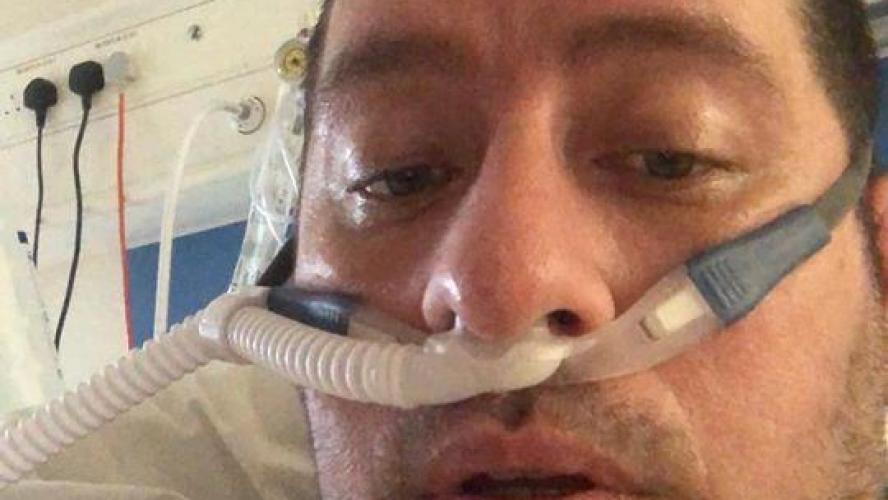 À 39 ans et en parfaite santé, Matt est atteint du coronavirus et aux soins intensifs: «J'ai fait une vidéo d'adieu à ma femme et mes enfants» (photo)