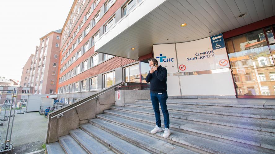 La clinique Saint-Joseph à Liège reprend du service: elle accueillera bientôt les patients guéris du Coronavirus mais encore contagieux