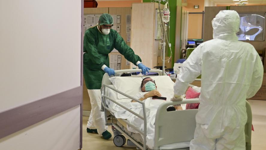 Une lueur d'espoir pour l'Italie — Coronavirus