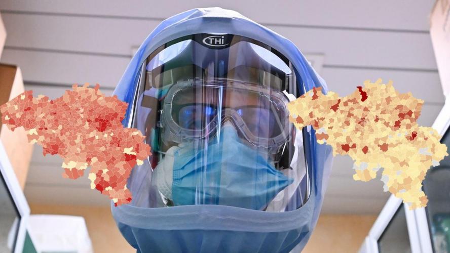 Coronavirus en Belgique: voici le nombre de cas de Covid-19 détectés dans votre commune avec les chiffres de ce vendredi 10 avril (podcasts)