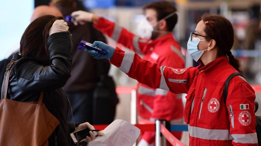 Coronavirus : Le bilan quotidien continue à croître en Italie