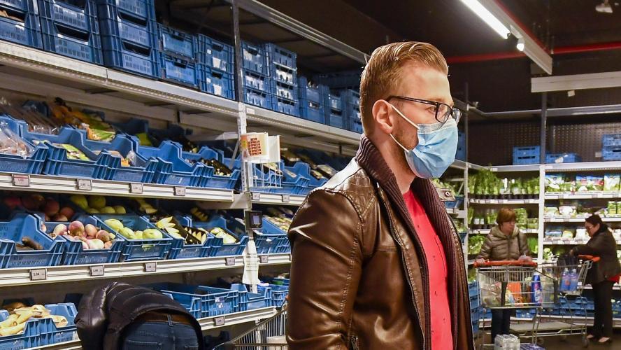 Coronavirus en Belgique: «Le port du masque sera recommandé, mais ...