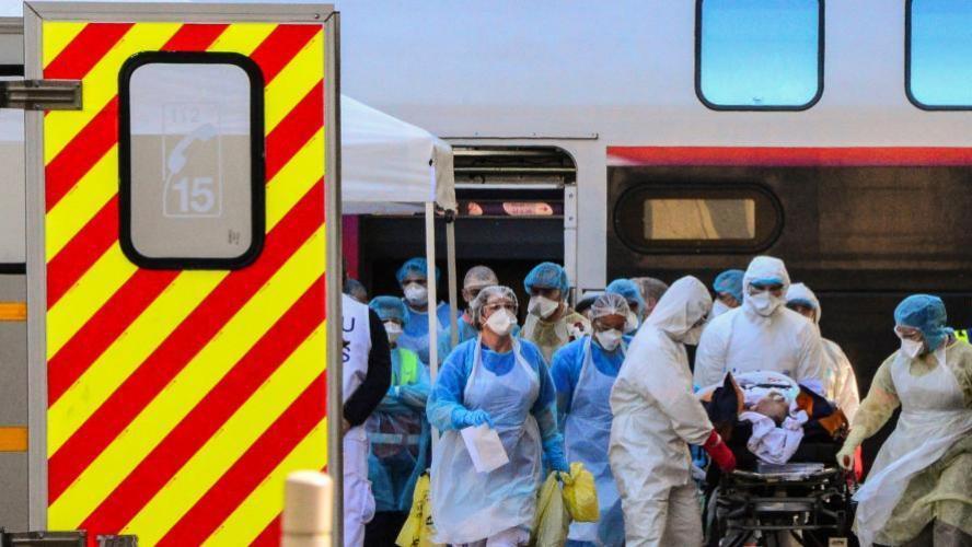 642 décès de plus en 24 heures mais moins de patients hospitalisés