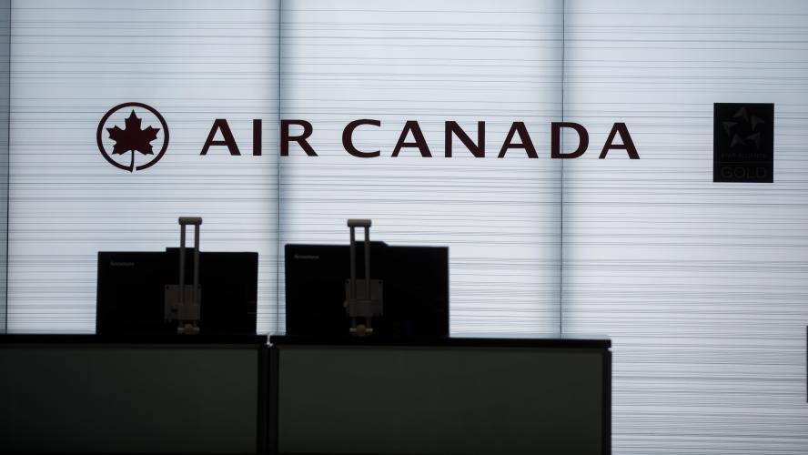 Air Canada stoppe ses vols réguliers vers les États-Unis