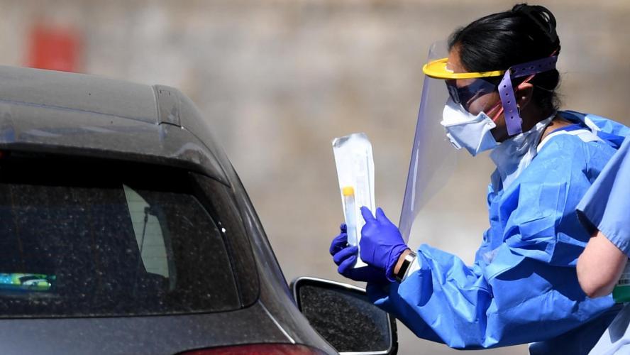 Le bilan journalier en hausse aux États-Unis — Coronavirus