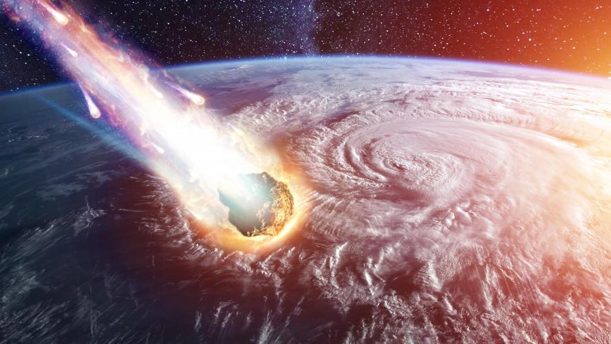Un astéroïde s'approche de la Terre — Espace