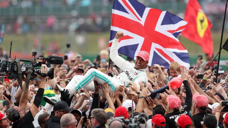 Boris Johnson sauve la F1 britannique