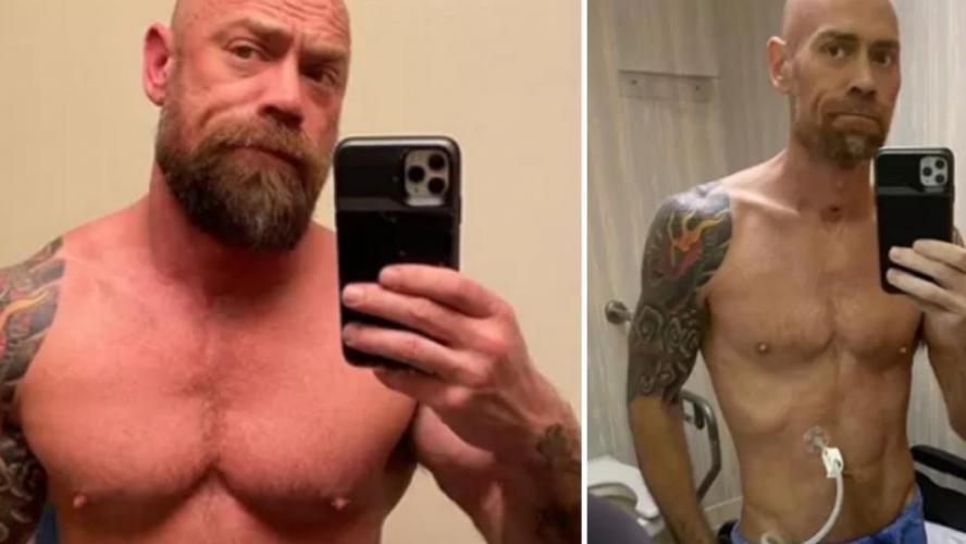 Un infirmier de 43 ans perd 22 kilos à cause du Covid-19 — Avant/après