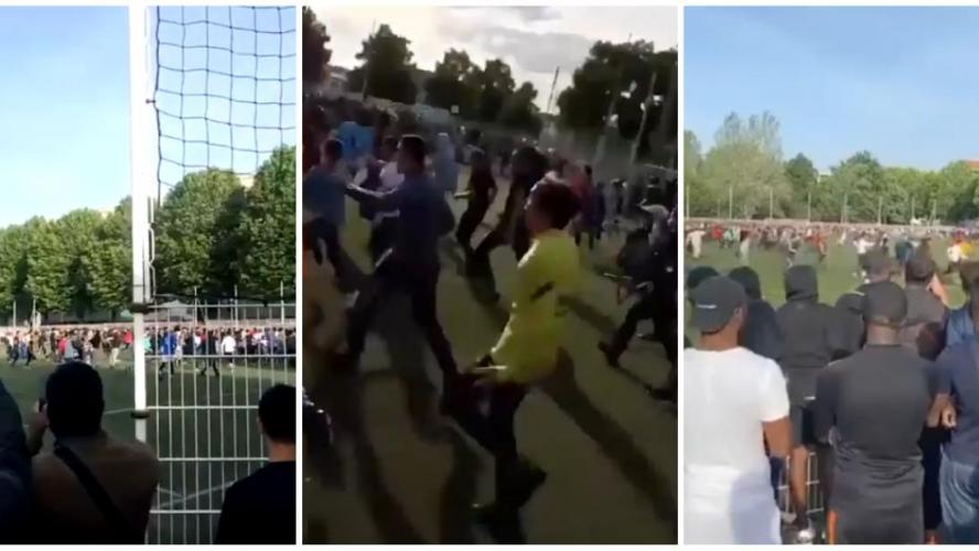 400 personnes assistent à un match organisé illégalement — Strasbourg