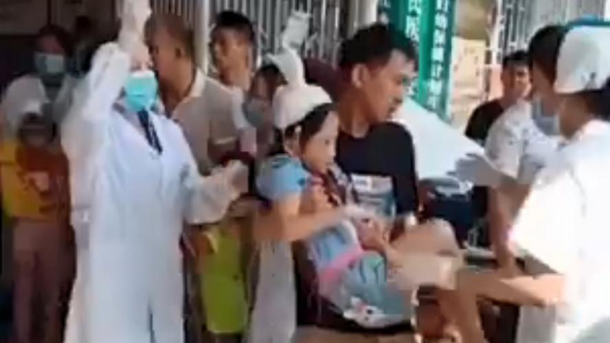 Attaque au couteau dans une école chinoise : 39 blessés